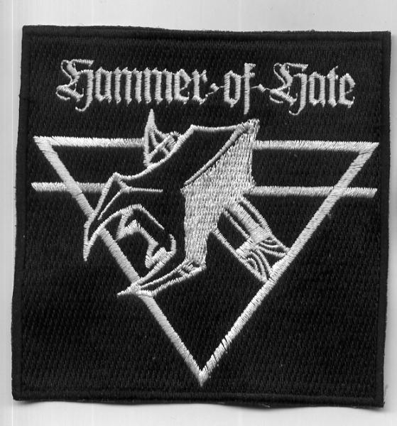 HAMMER OF HATE : Logo patch