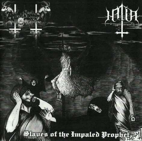 ANAL BLASPHEMY / HALLA : Slave of the Impaled Prophet