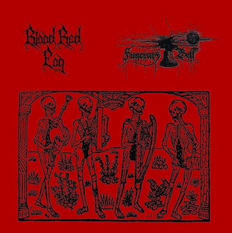 BLOOD RED FOG / FUNERARY BELL : Blood Red Fog / Funerary Bell