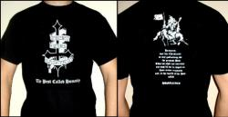 DARKENED NOCTURN SLAUGHTERCULT : The Pest Called Humanity TS  M-size