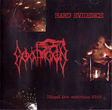 GOATMOON : Hard Evidence - Illegal Live Activities 2009