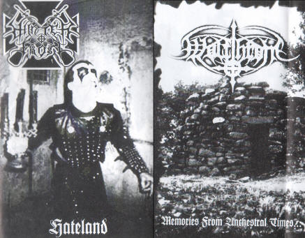 WINTERFROST / WOLFTHRONE : Hateland / Memories from Ancestral Times