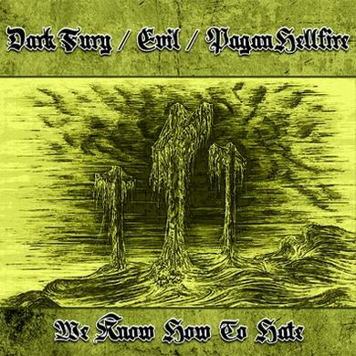 DARK FURY / EVIL / PAGAN HELLFIRE : We Know How to Hate