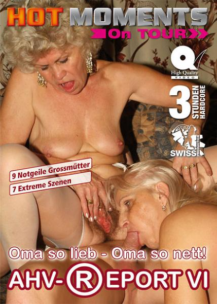 ADULTS ONLY K-18 : AHV-Report VI: Oma so lieb, Oma so nett