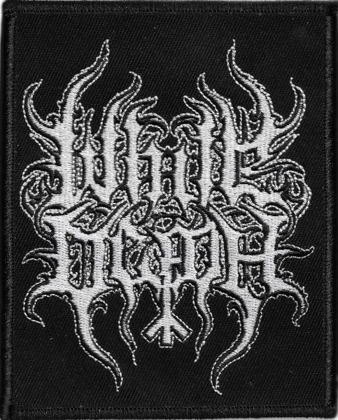 WHITE DEATH : Logo patch