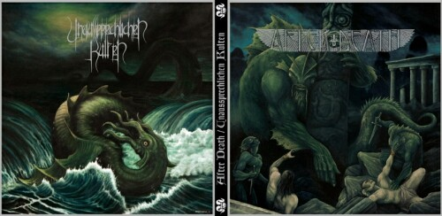 AFTER DEATH / UNAUSSPRECHLICHEN KULTEN  : Dwellers of the Deep / The Madness from the Sea