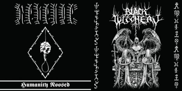 BLACK WITCHERY / REVENGE : Holocaustic Death March to Humanity's Doom