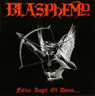 BLASPHEMY : Fallen Angel of Doom.... (black vinyl)