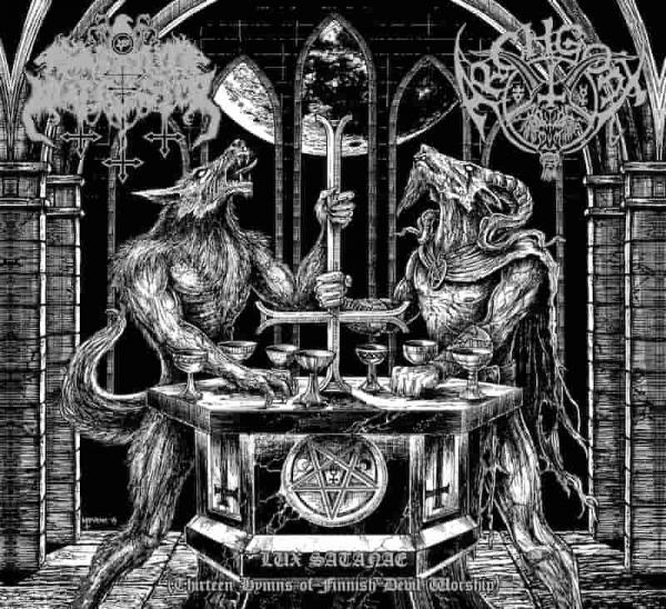 SATANIC WARMASTER / ARCHGOAT : Lux Satanae (Thirteen Hymns of Finnish Devil Worship)