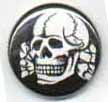 BUTTONS: (Black) Totenkopf Button