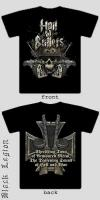 HAIL OF BULLETS: Hell And War TS L-size
