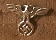 BUTTONS: Iron Eagle Nazi pin